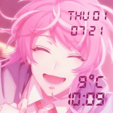 ramuda date weather clock