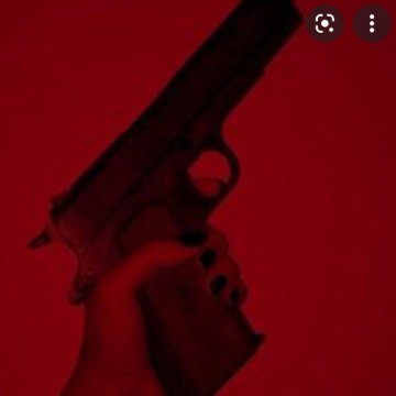 pistolet rouge