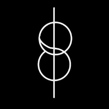 shifting symbol white