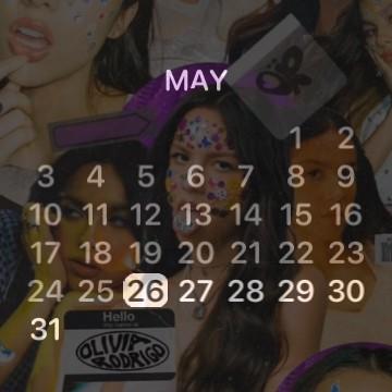 Olivia Calendar