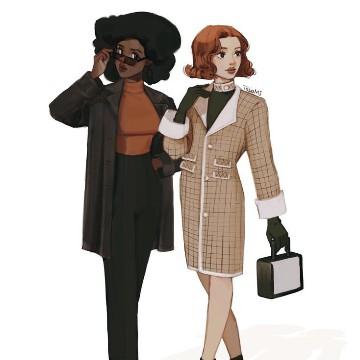 Beth&Jolene Queens Gambit