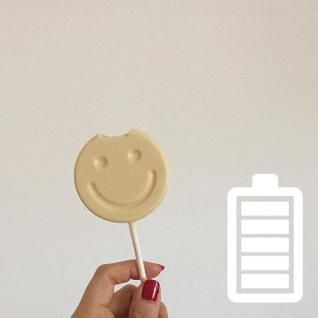 cute lollipop battery