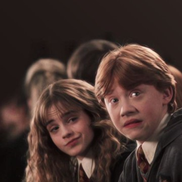 hermione and ron