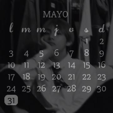 V, BTS/Calendar