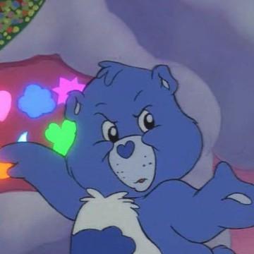 blue bear aestjetic