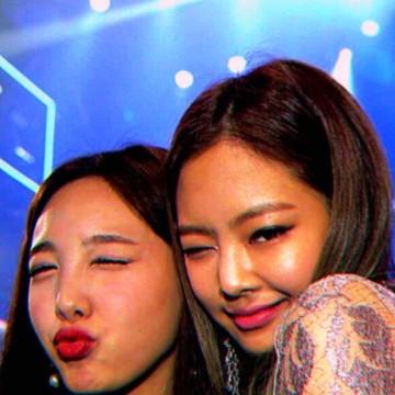 jennie and Naeyon widget