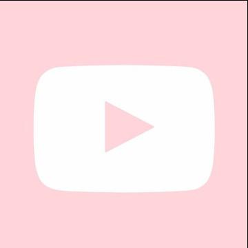 YouTube widget pink
